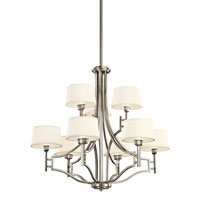 Kichler Lighting Quinn 9 Light Chandelier in Antique Pewter 42248AP photo thumbnail