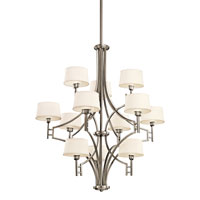 Kichler Lighting Quinn 12 Light Chandelier in Antique Pewter 42249AP photo thumbnail