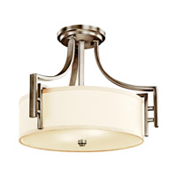 Kichler Lighting Quinn 2 Light Semi-Flush in Antique Pewter 42253AP photo thumbnail