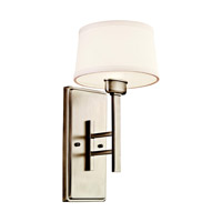Kichler Lighting Quinn 1 Light Wall Sconce in Antique Pewter 42255AP photo thumbnail