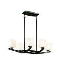 Kichler Lighting Brinbourne 6 Light Chandelier in Anvil Iron 42261AVI