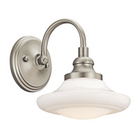 Kichler Lighting Keller 1 Light Wall Sconce in Brushed Nickel 42271NI photo thumbnail