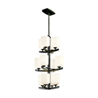 Kichler Lighting Brinbourne 12 Light Foyer Chandelier in Anvil Iron 42292AVI