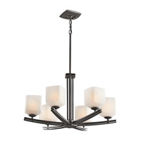Kichler Lighting Brinbourne 6 Light Chandelier in Anvil Iron 42293AVI photo thumbnail