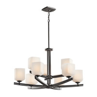 Kichler Lighting Brinbourne 9 Light Chandelier in Anvil Iron 42294AVI photo thumbnail