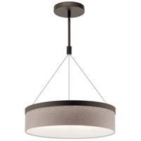 Kichler 42297OZLED Mercel LED 19 inch Olde Bronze Pendant Ceiling Light