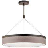 Kichler 42298OZLED Mercel LED 26 inch Olde Bronze Chandelier Ceiling Light Round