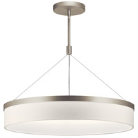 Kichler 42298SNLED Mercel LED 26 inch Satin Nickel Chandelier Ceiling Light, Round