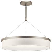 Kichler 42298SNLED Mercel LED 26 inch Satin Nickel Chandelier Ceiling Light Round