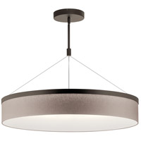 Kichler 42299OZLED Mercel LED 32 inch Olde Bronze Chandelier Ceiling Light Round