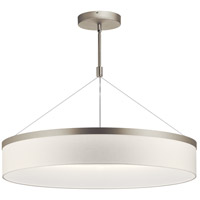 Kichler 42299SNLED Mercel LED 32 inch Satin Nickel Chandelier Ceiling Light, Round
