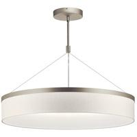 Kichler 42299SNLED Mercel LED 32 inch Satin Nickel Chandelier Ceiling Light Round
