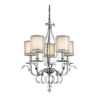 Kichler Lighting Jardine 5 Light Chandelier in Chrome 42301CH photo thumbnail