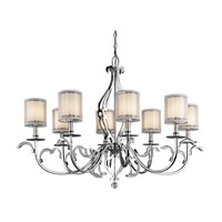 Kichler Lighting Jardine 8 Light Chandelier in Chrome 42303CH photo thumbnail