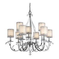 Kichler 42304CH Jardine 9 Light 39 inch Chrome Chandelier Ceiling Light