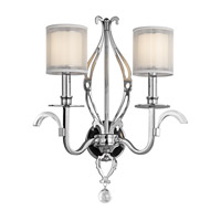 Kichler Lighting Jardine 2 Light Wall Sconce in Chrome 42307CH photo thumbnail