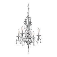 Kichler 42338CH Rizzo 4 Light 18 inch Chrome Mini Chandelier Ceiling Light photo thumbnail