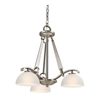 Kichler Lighting Garland 3 Light Chandelier in Antique Pewter 42353AP photo thumbnail