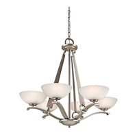 Kichler Lighting Garland 6 Light Chandelier in Antique Pewter 42355AP photo thumbnail