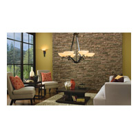 Kichler Lighting Garland 6 Light Chandelier in Shadow Bronze 42355SWZ alternative photo thumbnail