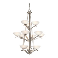 Kichler Lighting Garland 12 Light Chandelier in Antique Pewter 42358AP
