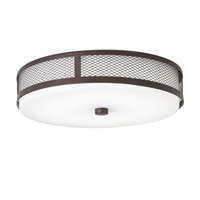 Kichler 42379OZ Signature LED 13 inch Olde Bronze Flush Mount Ceiling Light