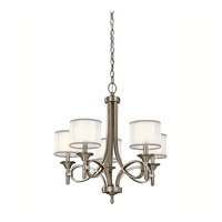 Lacey 5 Light 25 inch Antique Pewter Chandelier Ceiling Light