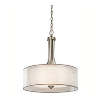 Kichler 42385AP Lacey 3 Light 20 inch Antique Pewter Inverted Pendant Ceiling Light