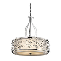Jardine 3 Light 24 inch Chrome Inverted Pendant Ceiling Light