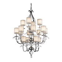 Kichler Lighting Jardine 16 Light Foyer Chandelier in Chrome 42392CH photo thumbnail