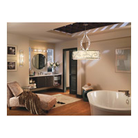 Kichler 45293CH Jardine 4 Light 36 inch Chrome Bath Vanity Wall Light alternative photo thumbnail