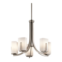 Kichler Lighting Leeds 5 Light Chandelier in Antique Pewter 42426AP photo thumbnail