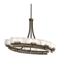 Kichler Lighting Leeds 12 Light Chandelier in Shadow Bronze 42431SWZ photo thumbnail