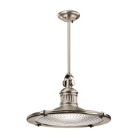 Kichler Sayre 1 Light Pendant in Antique Pewter 42440AP