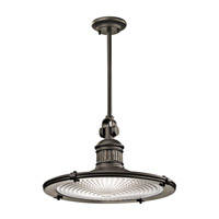 Kichler Sayre 1 Light Pendant in Olde Bronze 42440OZ photo thumbnail