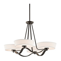 Kichler Lighting Glissade 4 Light Chandelier in Olde Bronze 42450OZ photo thumbnail