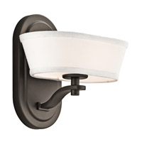 Kichler Lighting Glissade 1 Light Wall Sconce in Olde Bronze 42452OZ