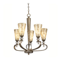Kichler Lighting Roma Notte 5 Light Chandelier in Sunrise Mist 42470SRM
