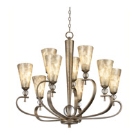 Kichler Lighting Roma Notte 9 Light Chandelier in Sunrise Mist 42472SRM