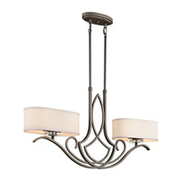 Kichler Lighting Leighton 4 Light Island Light in Olde Bronze 42480OZ photo thumbnail