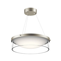 Kichler 42491NILED Tarla LED 17 inch Brushed Nickel Pendant Ceiling Light