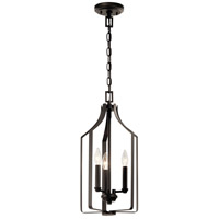 Kichler 42499OZ Morrigan 3 Light 10 inch Olde Bronze Indoor Lantern Pendant Ceiling Light