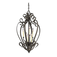 Kichler Lighting Signature 6 Light Foyer Chain Hung in Olde Bronze 42502OZ photo thumbnail