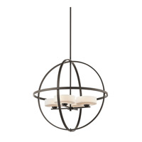 Kichler 42506OZ Olsay 4 Light 29 inch Olde Bronze Chandelier Ceiling Light
