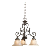 Kichler Lighting Sarabella 3 Light Chandelier in Legacy Bronze 42509LZ photo thumbnail