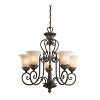 Kichler Lighting Sarabella 5 Light Chandelier in Legacy Bronze 42510LZ photo thumbnail