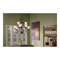 Kichler Lighting Sarabella 9 Light Chandelier in Legacy Bronze 42511LZ alternative photo thumbnail
