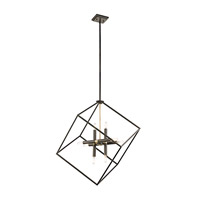 Cartone 8 Light 26 inch Olde Bronze Pendant Ceiling Light