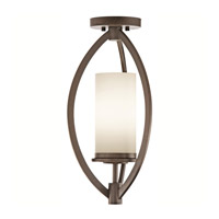 Kichler Lighting Neptune Place 1 Light Semi-Flush in Colton Bronze 42535CTZ