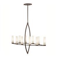 Kichler Lighting Neptune Place 10 Light Chandelier in Colton Bronze 42539CTZ photo thumbnail